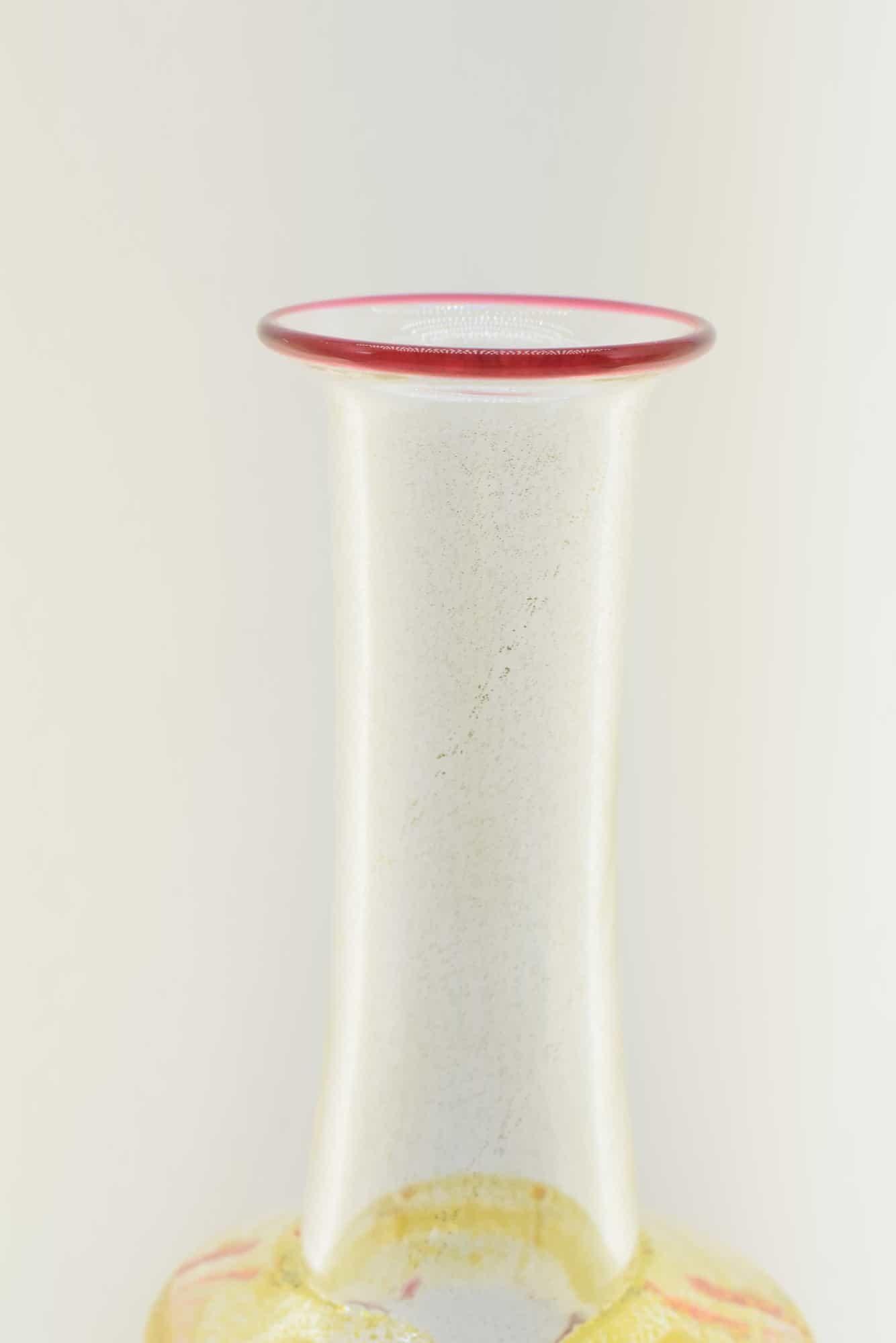 Vittorio Zecchin Murano Glasflasche aus den 30er Jahren - (Art. 36509)