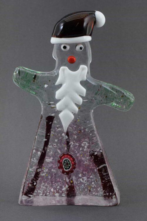 Muranoglas Weihnachtsmann