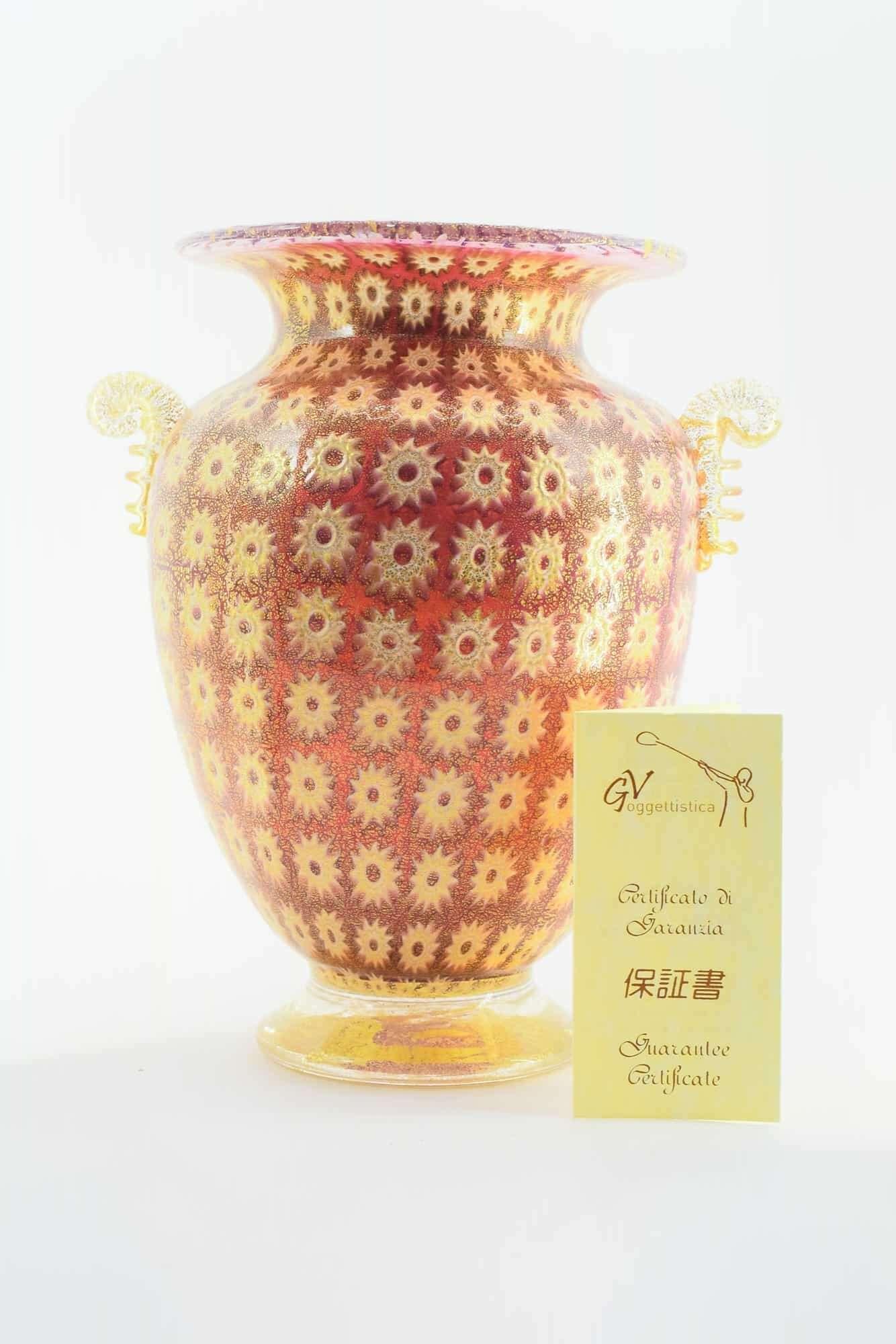 Ваза Муррина из муранского стекла - (Art. 37126)