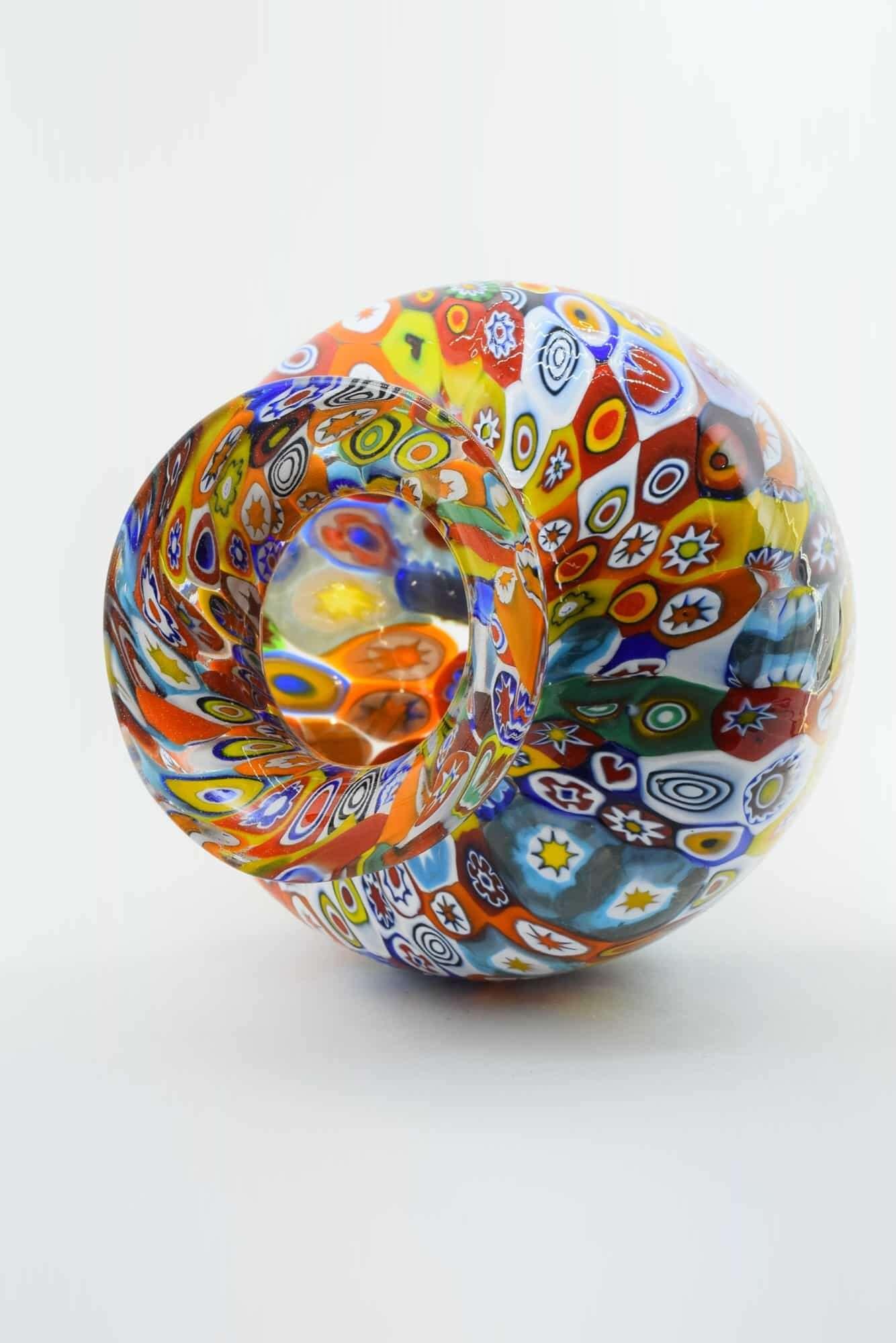 Ваза Муррина из муранского стекла - (Art. 37143)