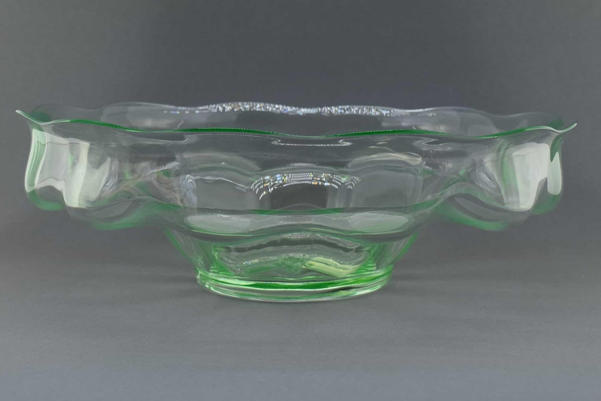 Vittorio Zecchin Murano Glas Herzstück 30er Jahre - (Art. 37213)
