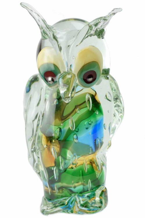 Муранское стекло сова