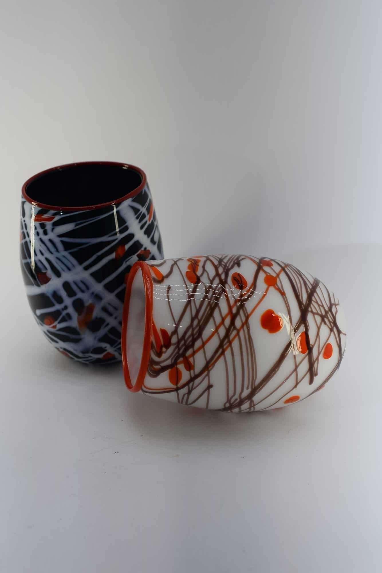 Brillenset mit Muranoglasfäden - (Art. 37975)