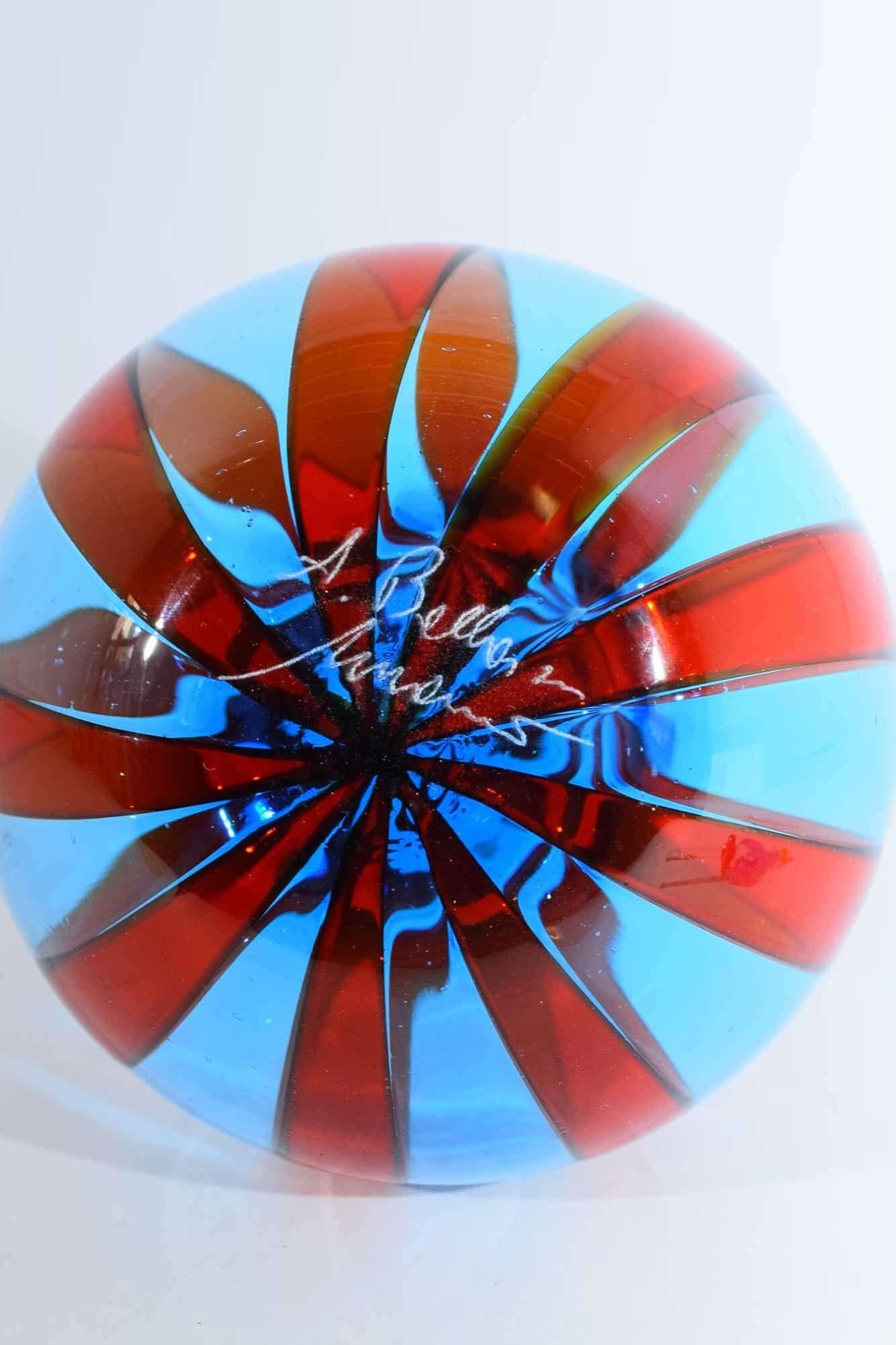 Murano Glas Reed Flasche - (Art. 37923)