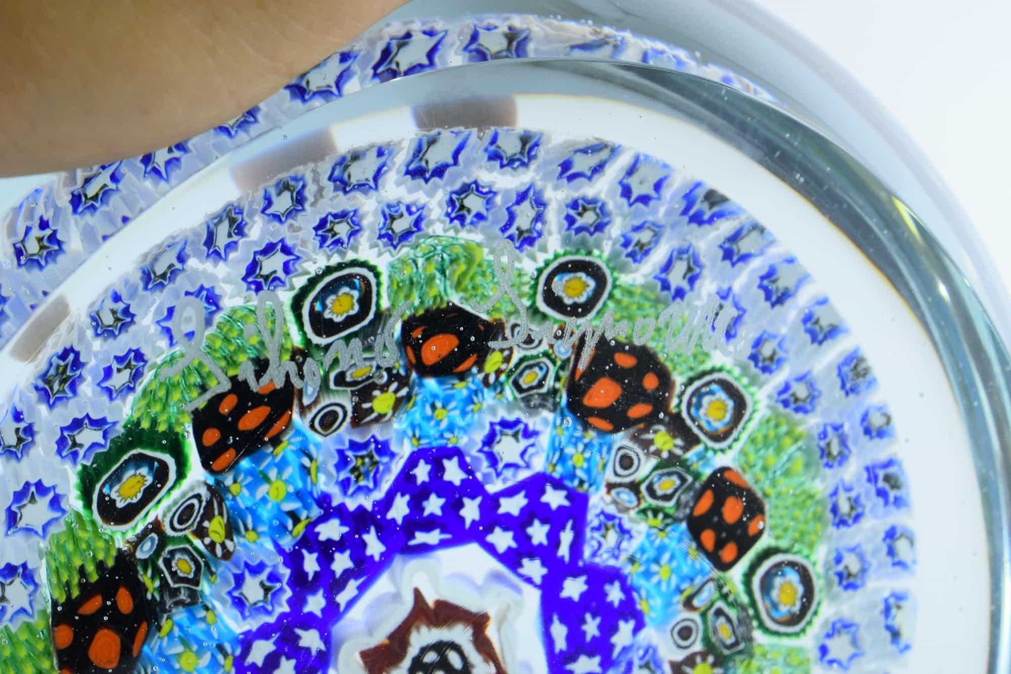 Silvano Signoretto Murano Glas Murrina Briefbeschwerer - (Art. 37878)