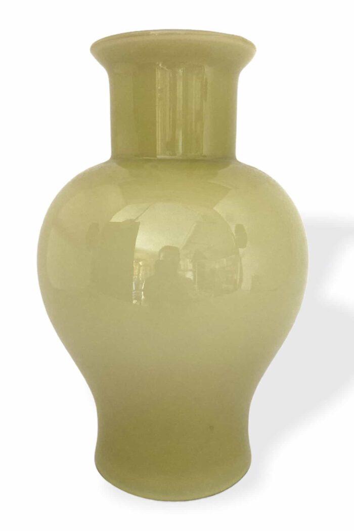 опаловая ваза из муранского стекла