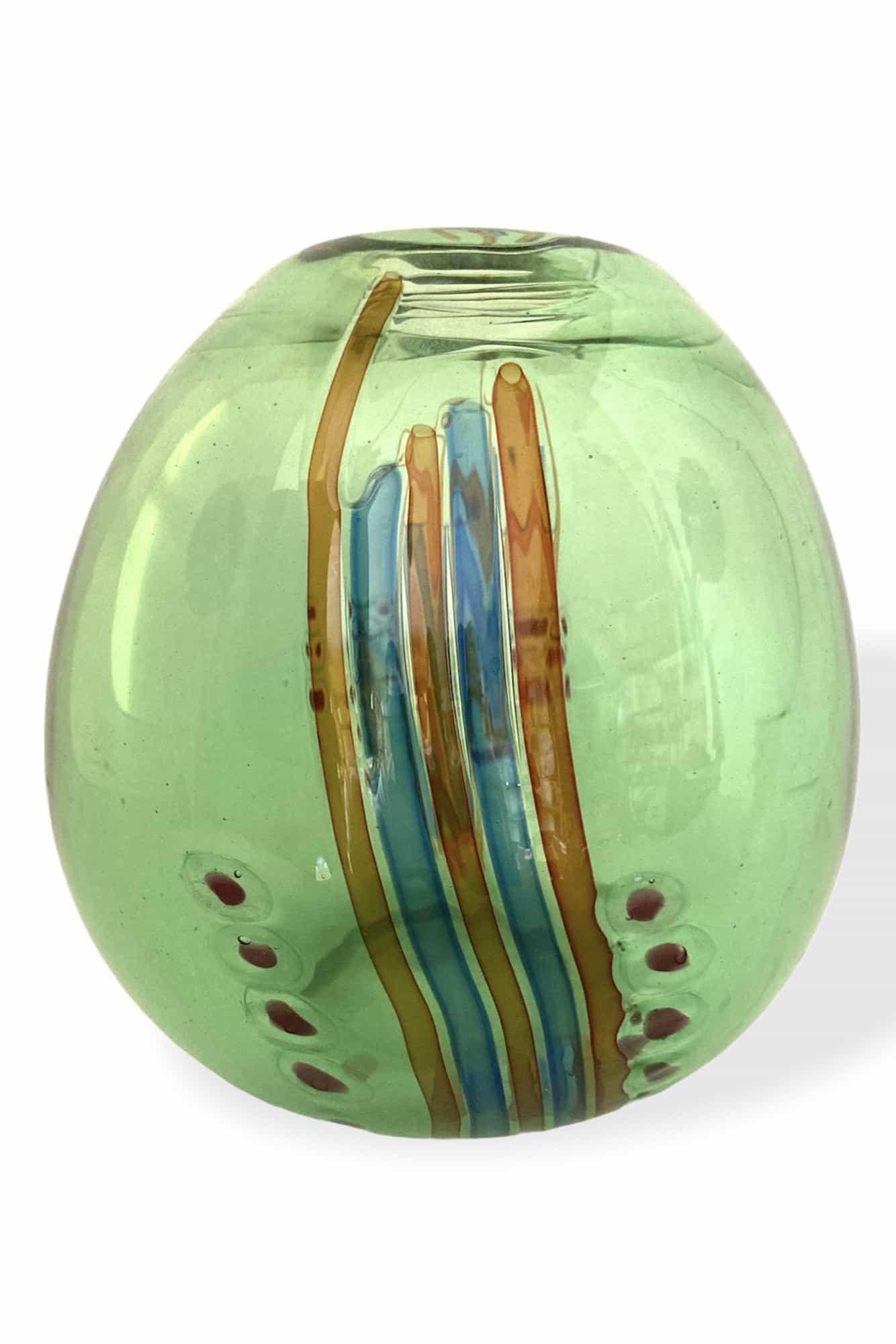 Corner Escape Murrine Vase in Muranoglas gekettet