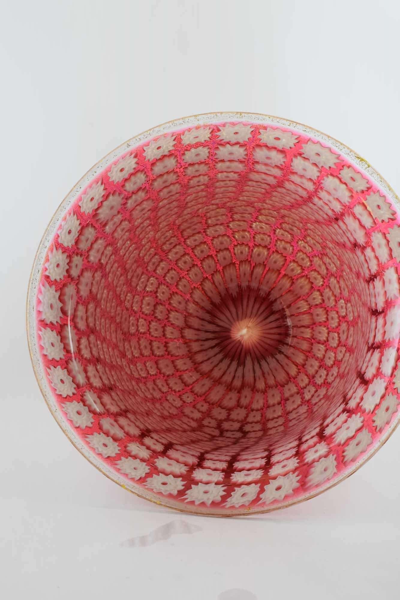 Amedeo Rossetto Murano Glas Murrina Vase - (Art. 38157)