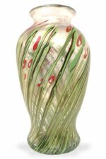 Licio Zanetti Blumenvase aus Muao-Glas