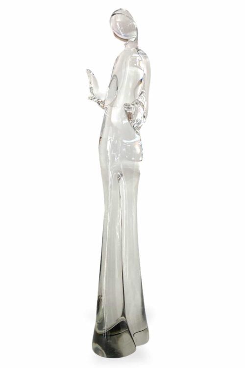 scultura massiccia in vetro del maestro Livio seguro