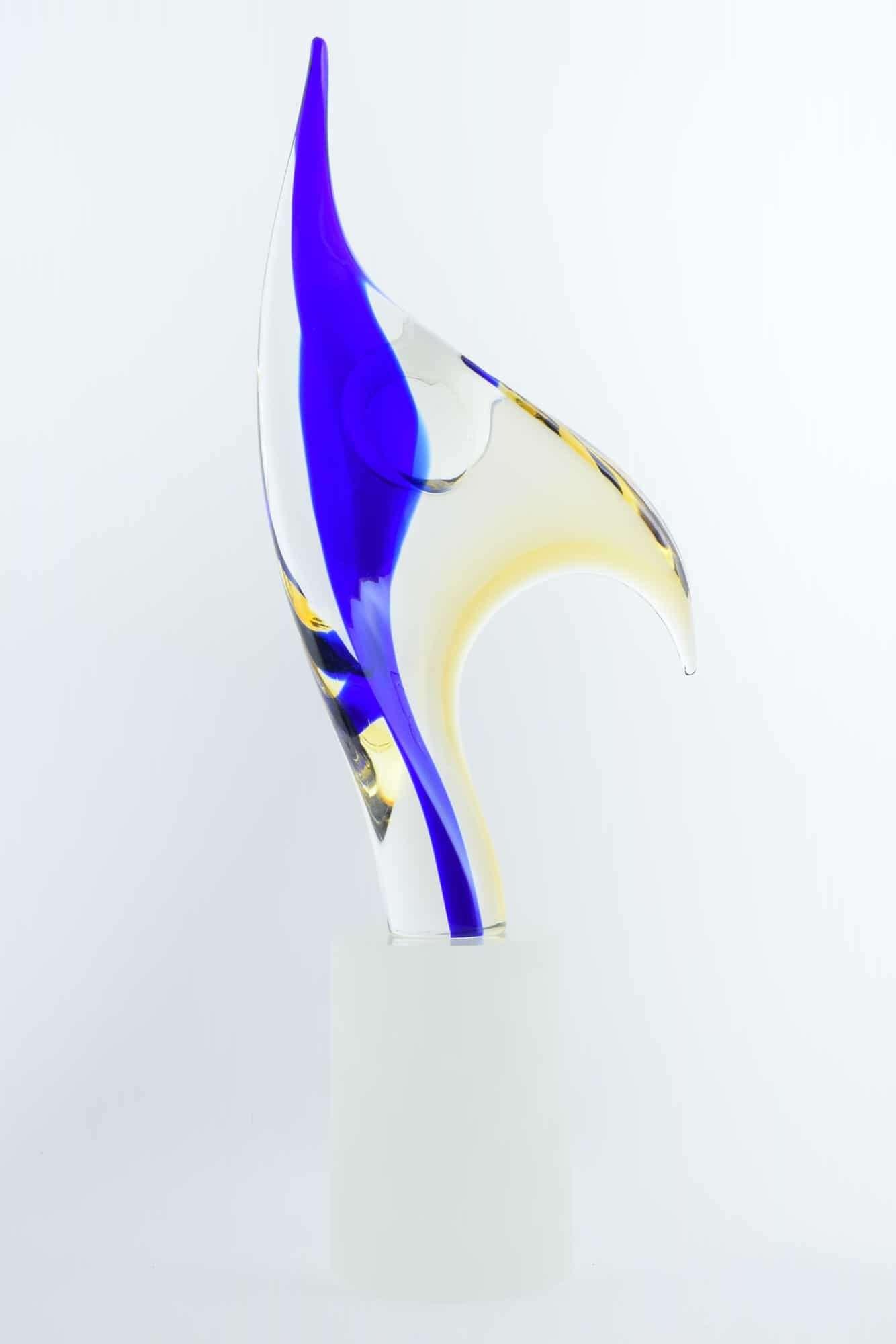 Скульптура танцовщицы из муранского стекла Романо Дона из муранского стекла (Art. 38062)
