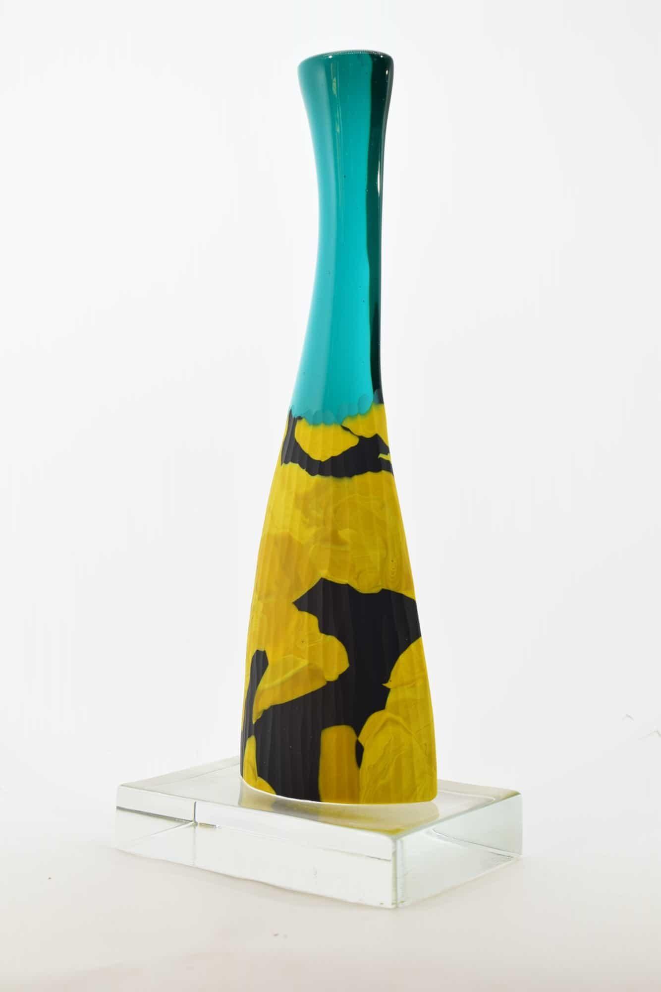 Скульптура из битого муранского стекла - (арт. 38919)