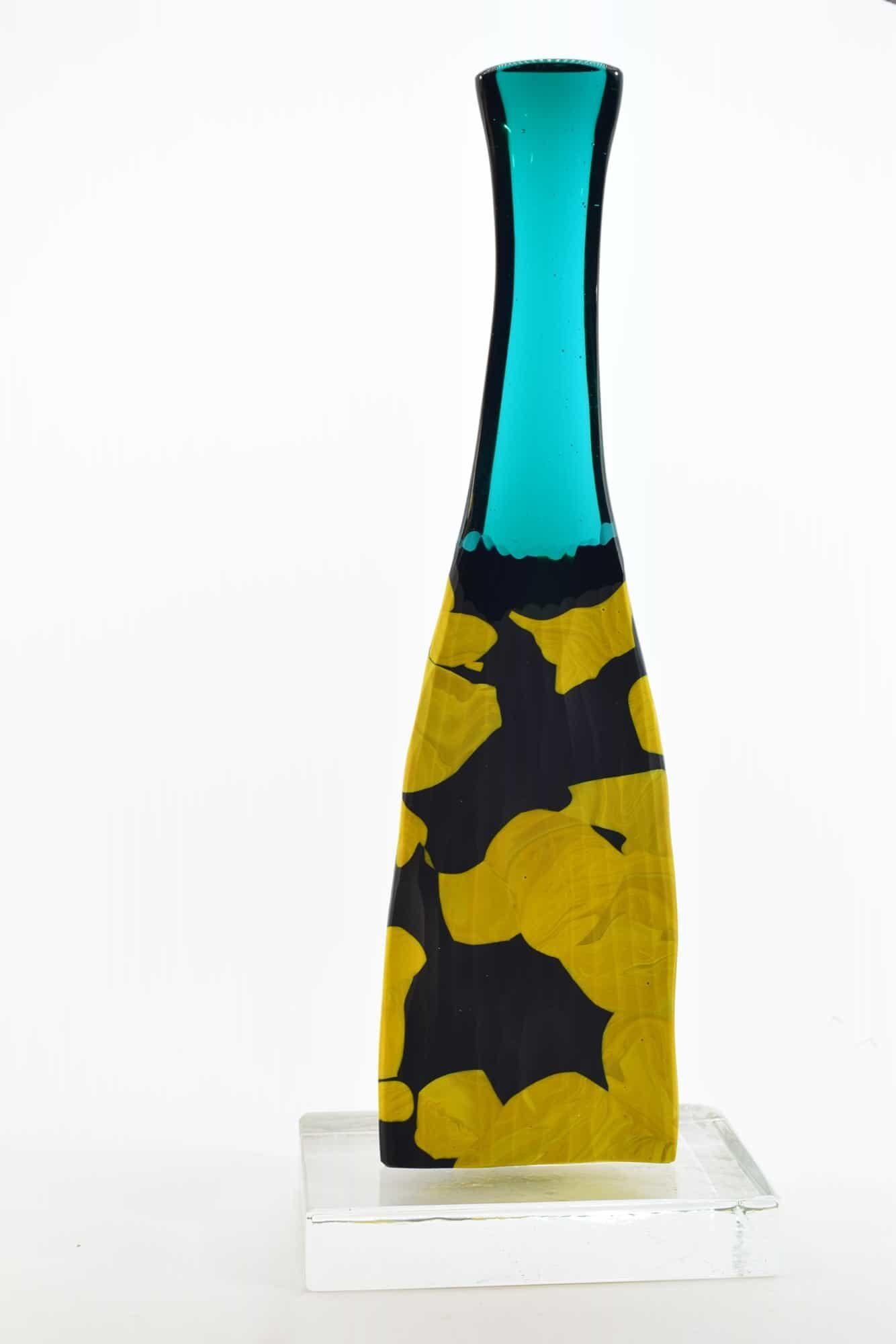 Скульптура из битого муранского стекла - (арт. 38927)
