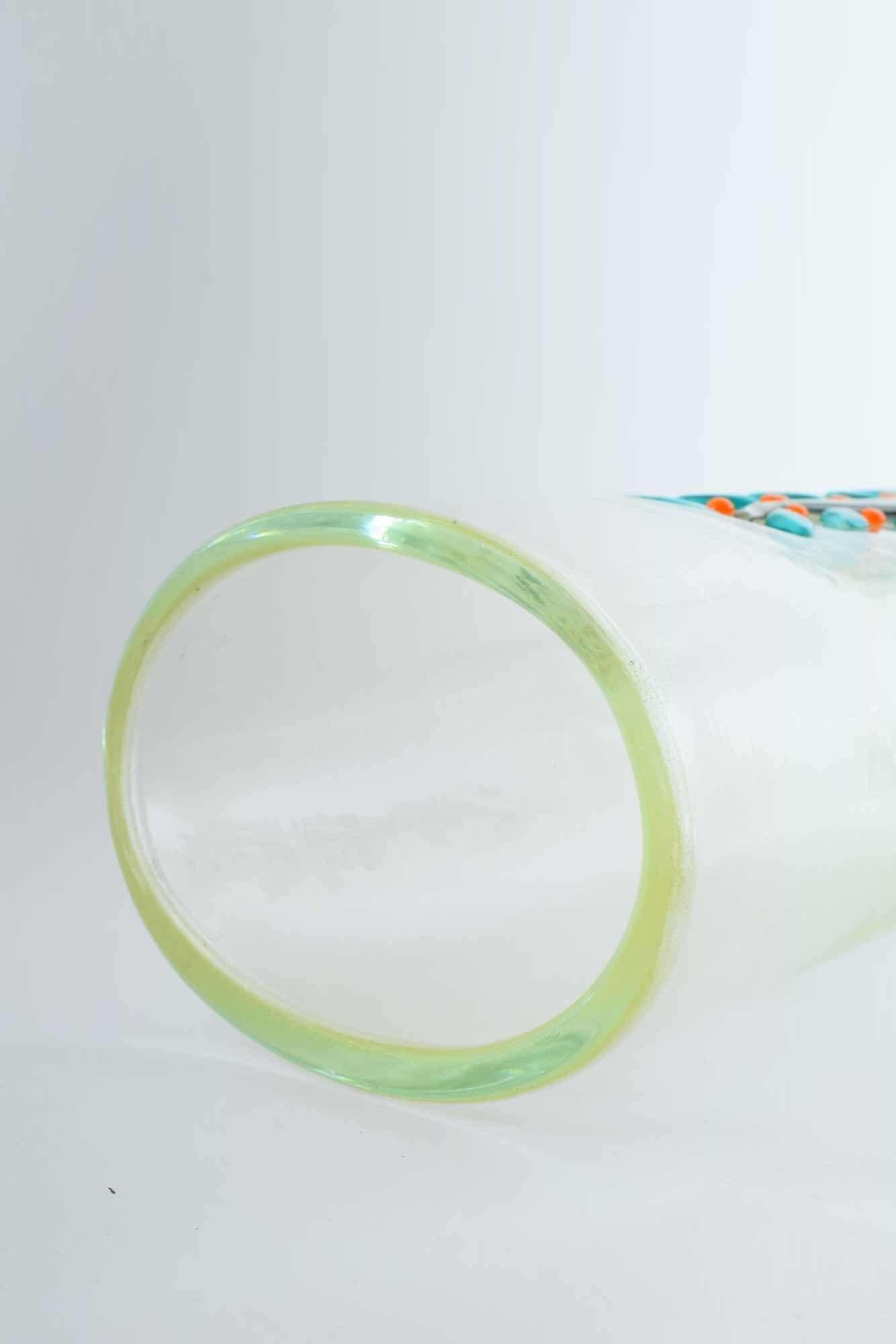 Сильвано Синьоретто ваза из муранского стекла - (Art. 38197)