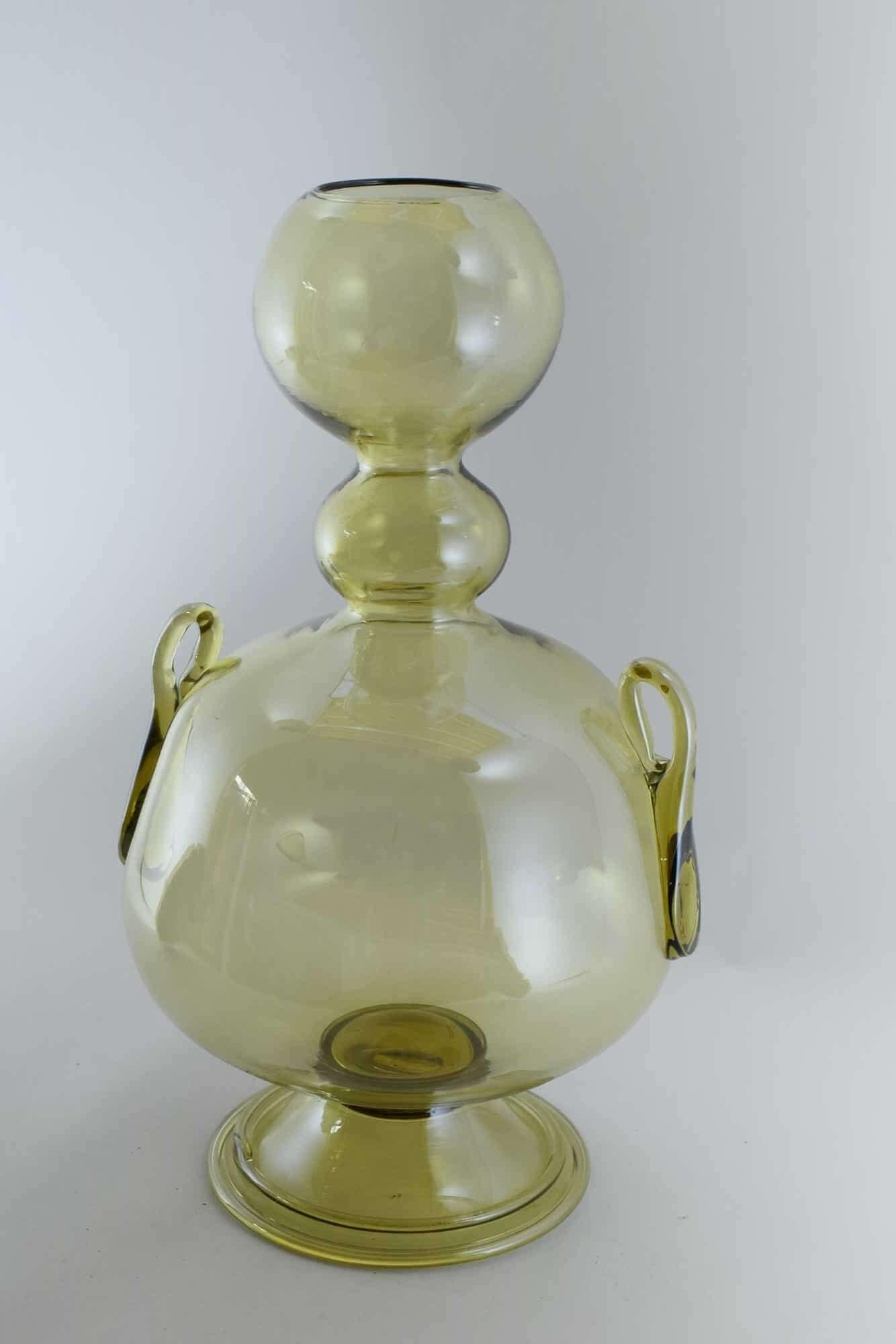 Витторио Цекчин Ваза из муранского стекла 30-х годов - (Art.37158)