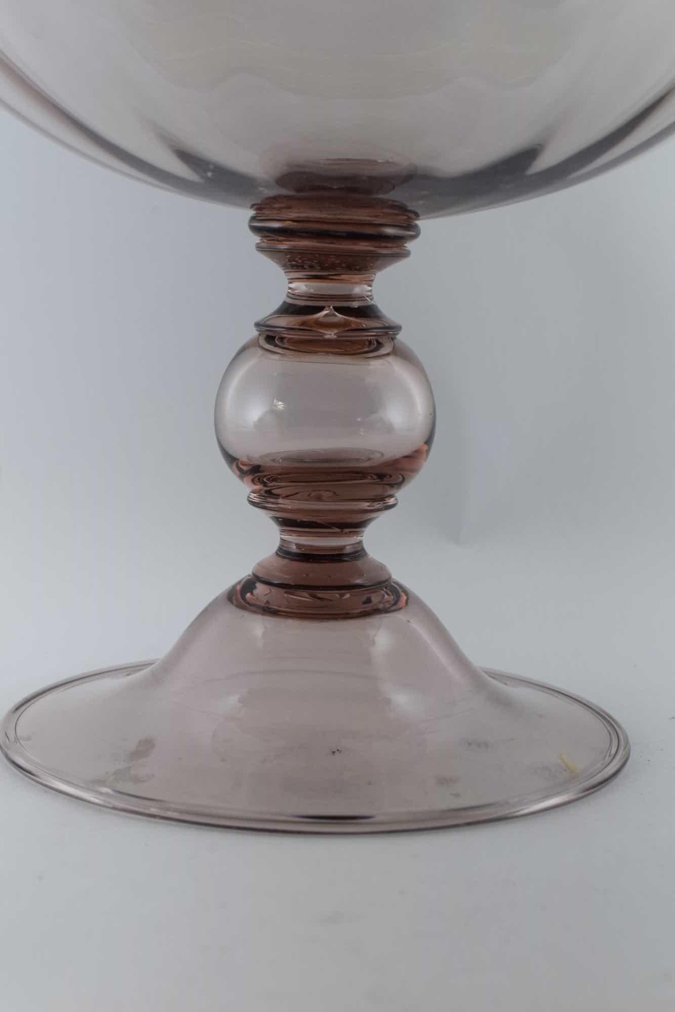 Витторио Цекчин Ваза из муранского стекла 30-х годов - (Art.38785)