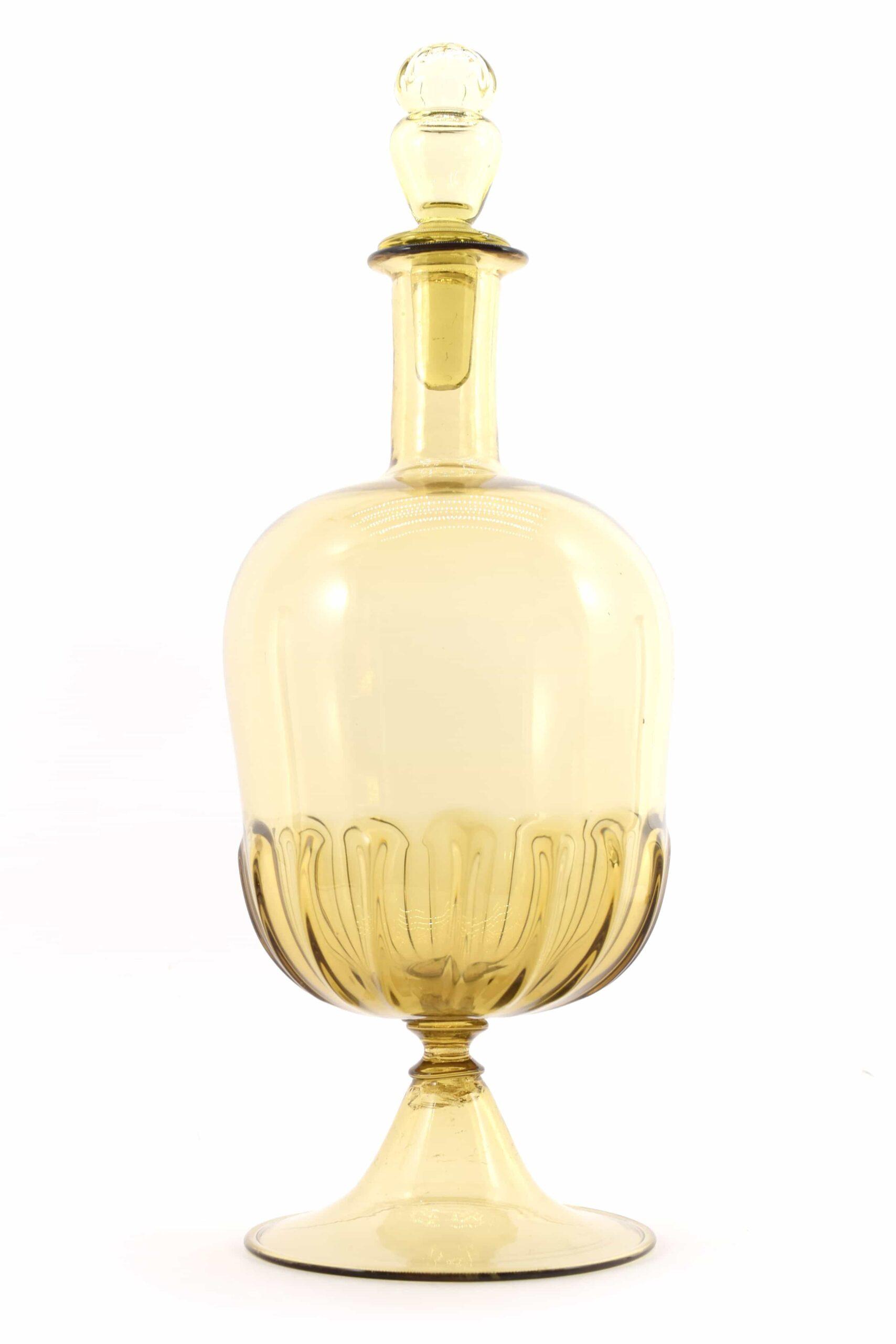 Бутылка Vittorio Zecchin из муранского стекла