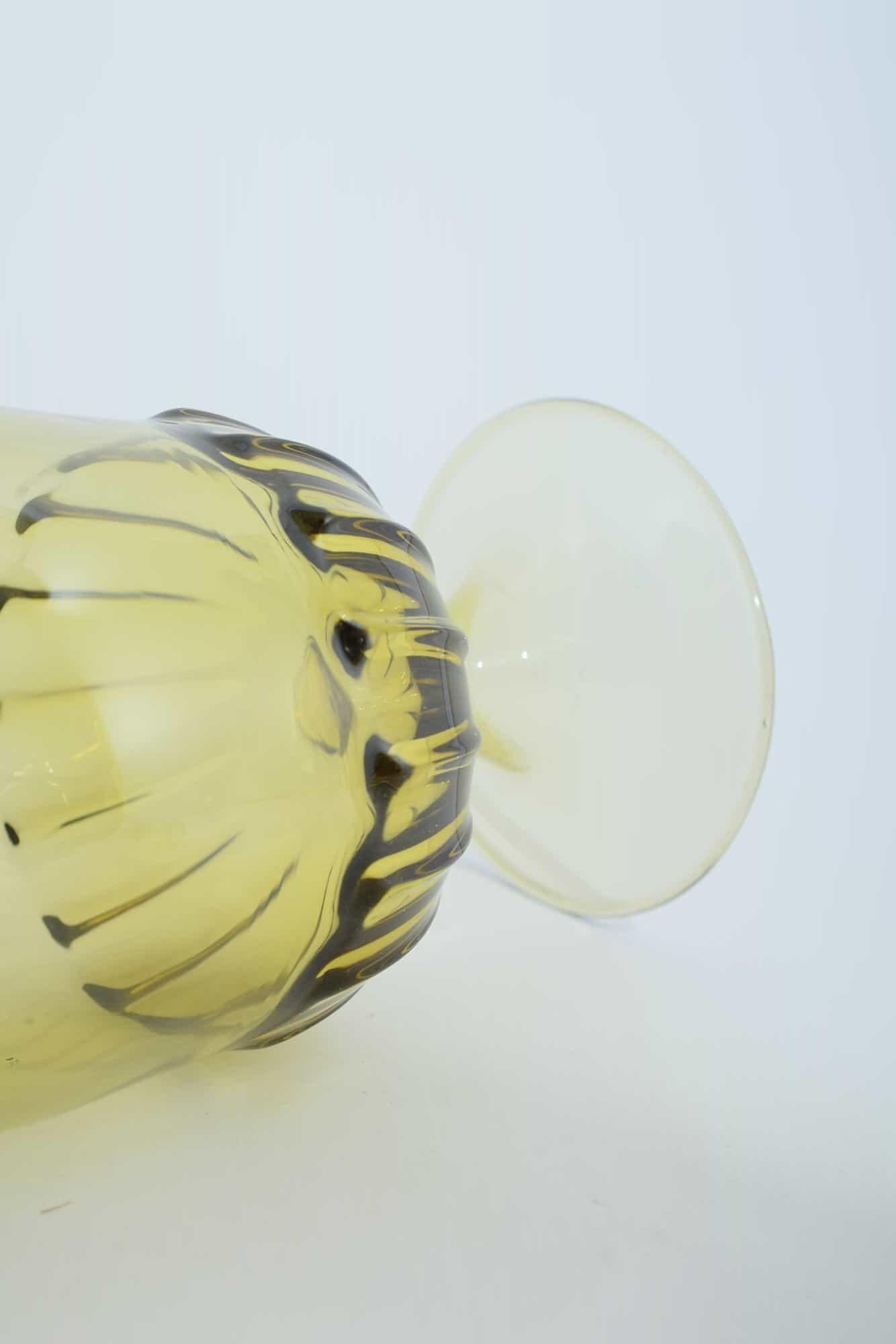 Vittorio Zecchin Бутылка из муранского стекла 30-х годов - (Art. 38843)